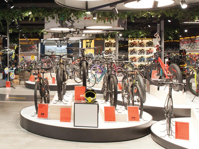 İstanbul'un en büyük bisiklet mağazası House of Bike